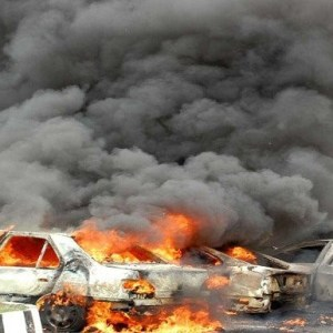 استشهاد سيدة وطفل وإصابة آخرين إثر انفجار سيارة برفح اليوم