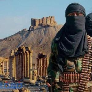 داعش يعدم ضحاياه بعد ربطهم في الأعمدة الأثرية وتفجيرها
