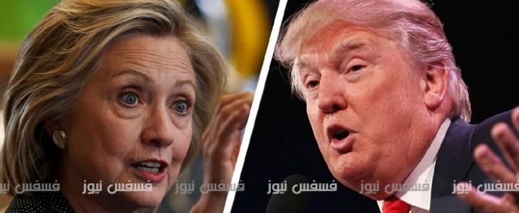 نتائج الانتخابات الأمريكية 2016 جميع الولايات : امريكا تنتخب hillary clinton vs donald trump