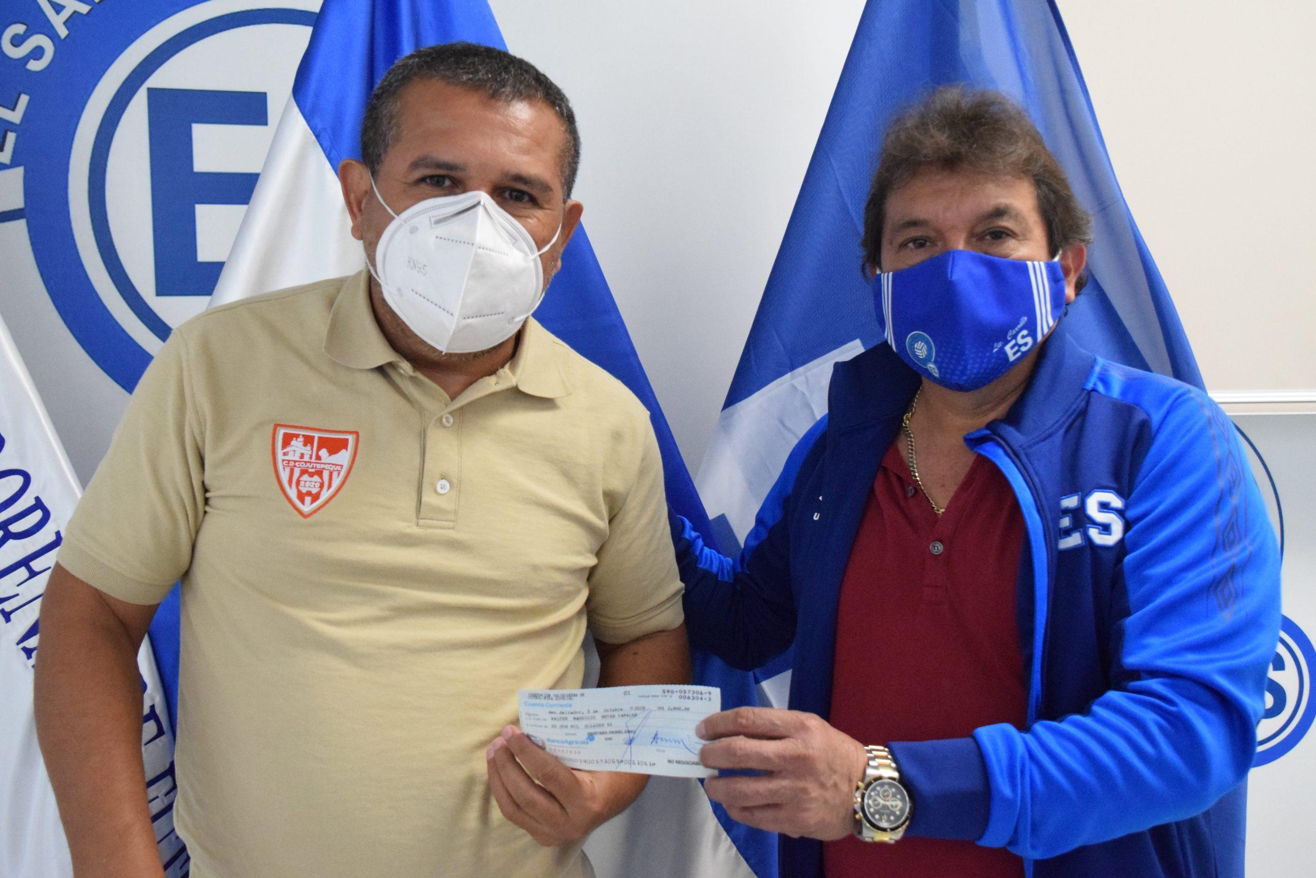 Licenciado Walter Reyes de Club Deportivo Cojutepeque, Cuscatlán