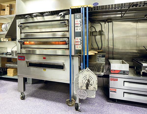 Rotolo pizza oven cookline