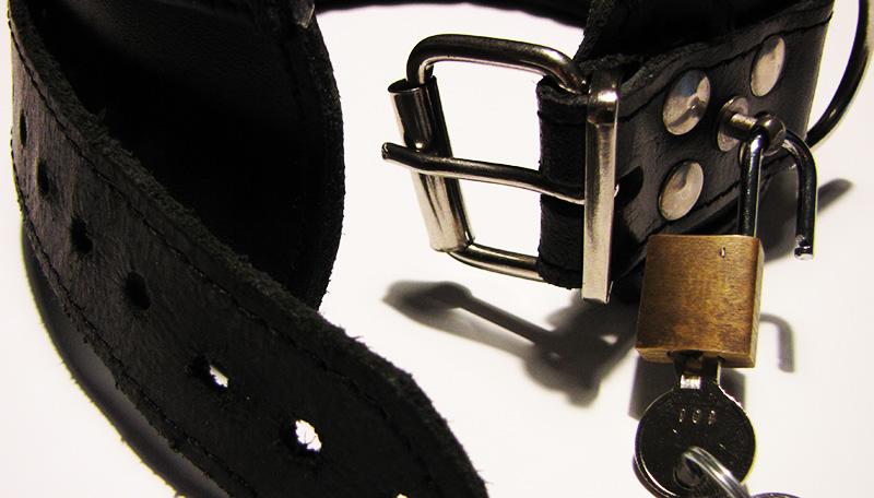 Halsband mit Schloss