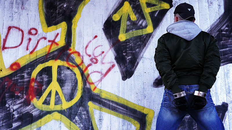 Graffiti - Copyright 2020, fesselblog.de