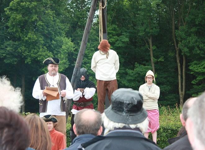 Mittelalterliche Hinrichtung - Copyright 2021, pxhere.com
