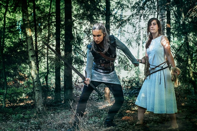 Live Action Role Playing (LARP) - Copyright 2021, pxhere.com