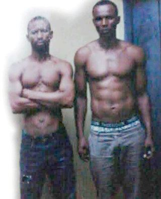 Paul Akpogherhe and Theophilus Ebiowei