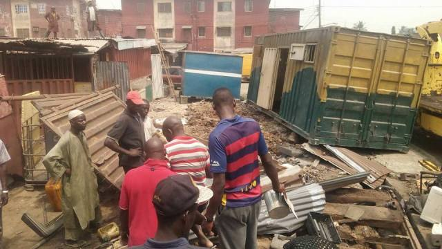 Demolition Of Retiree Shops In Mile 2 Stopped (4)