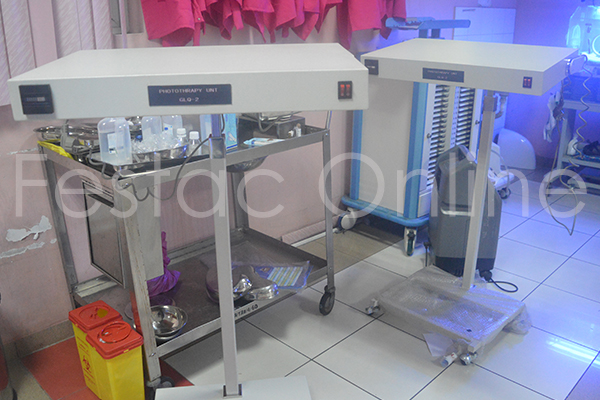 EL-LAB- Donates-Phototherapy-equipment-to-Health-Care-Center-Festac Town (2)
