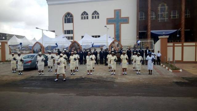 Dedication Of Newly Built Catholic Church Of Visitation Festac (10)