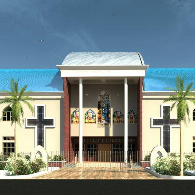 Dedication Of Newly Built Catholic Church Of Visitation Festac (4)