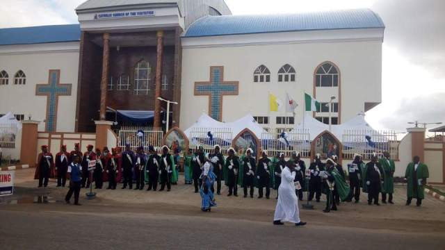 Dedication Of Newly Built Catholic Church Of Visitation Festac (6)