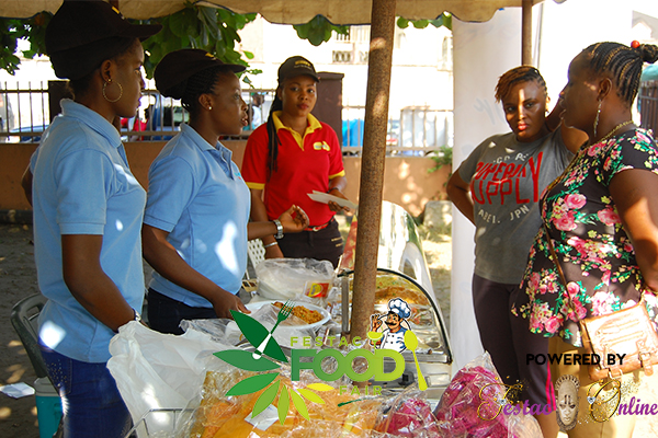 winnys-meal-atttending-to-guests-at-the-festac-food-fair-2016
