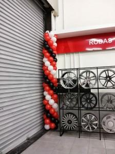 Decoracao baloes empresa146