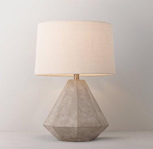 lampka nocna z betonu
