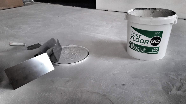jednoskładnikowy mikrocement Festfloor Go