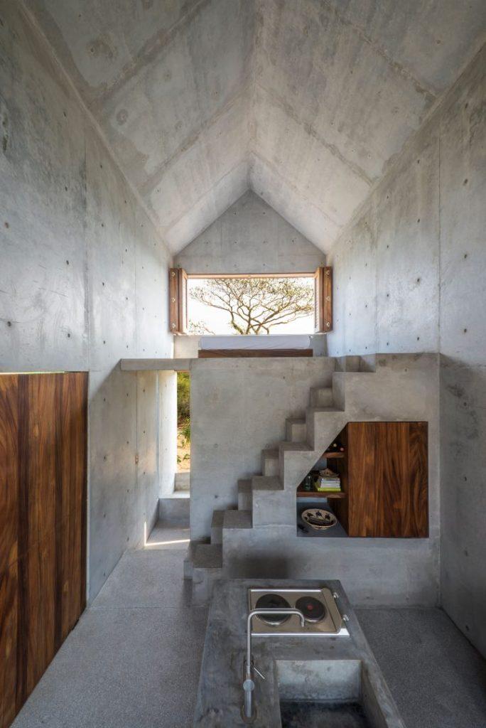 Beton dekoracyjny w domu