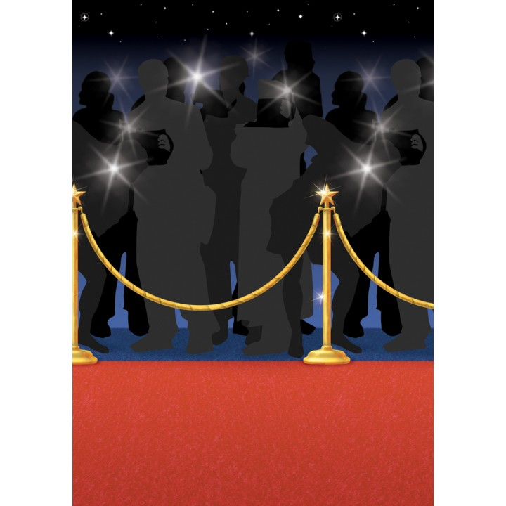 rouleau deco hollywood tapis rouge