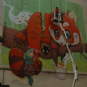 STREET ART TOUR: tra le strade di Torpignattara, tra arte urbana ufficiale e incursioni artistiche spontanee