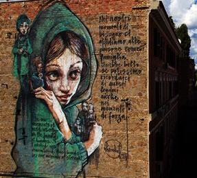 URBAN ART TOUR tra le vie di TORPIGNATTARA tra arte pubblica e incursioni spontanee