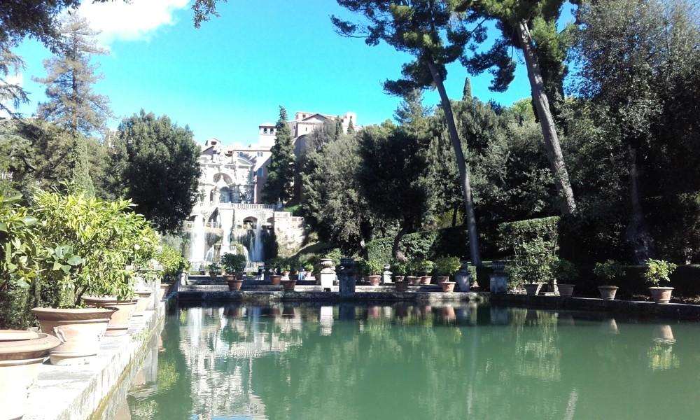 Villa d'Este a Tivoli, tra giochi d'acqua e giochi di potere