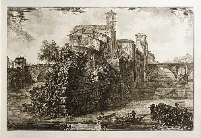 L'Isola Tiberina: dal Tempio di Esculapio ai sotterranei di S. Bartolomeo