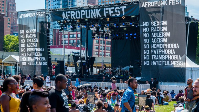 hot august music festival Afropunk