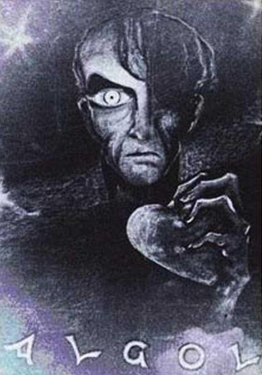 Portada de la película Algol de 1920