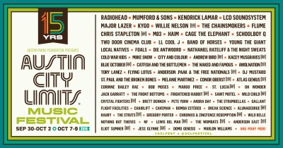 【Red Bull TV】Radiohead、Kendrick Lamarら出演の「AUSTIN CITY LIMITS MUSIC FESTIVAL」が今週末ストリーミング配信!