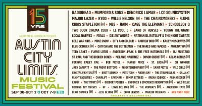 【Red Bull TV】Radiohead、Kendrick Lamarら出演の「AUSTIN CITY LIMITS MUSIC FESTIVAL」が今週末ストリーミング配信!