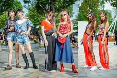 今年は赤コーデがトレンド!都市フェスファッションの最先端が集結した「ULTRA JAPAN 2018」来場者スナップ