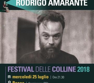 Rodrigo Amarante al festival delle Colline 2018