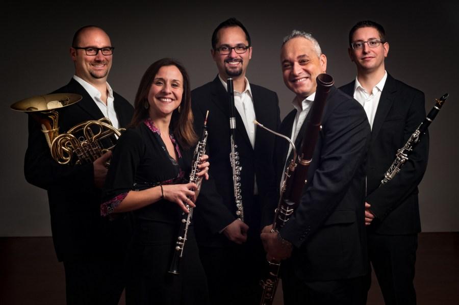 Quintette a vent Antares en concert le 17 août à Saint-Lary Soulan