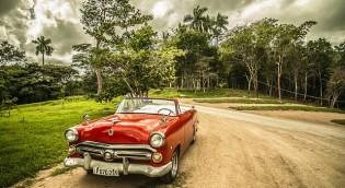Cuba vecchia automobile