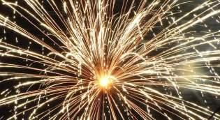 festa Capodanno fuochi artificio