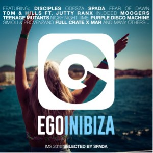 Spada - ego in ibiza compilation cover