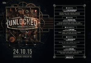 Unlocked line-up poster