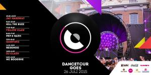 dancetour Goes 2015 lineup