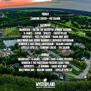 Hosting Partners Mysteryland 2016
