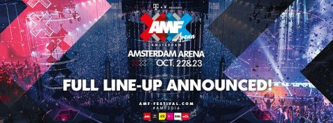 AMF 22 & 23 October full line-up announced