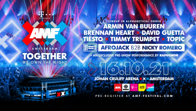 AMF line-up 2021 David Guetta Armin van Buuren Afrojack Nicky Romero Topic