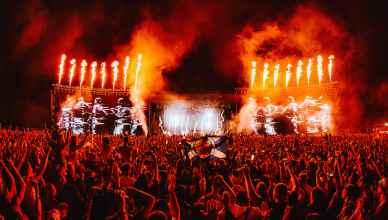 Creamfields David Guetta Credits: Anthony Mooney