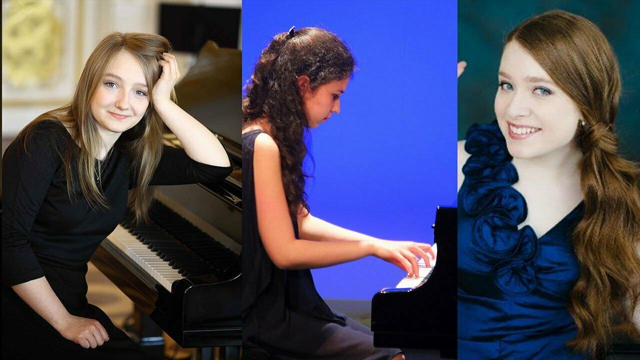 Diana COOPER, piano (France) Anastasia RIZIKOV, piano (Canada) Aleksandra Swigut