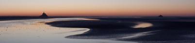 Jacques BREGEAUX - Crépuscule sur la baie