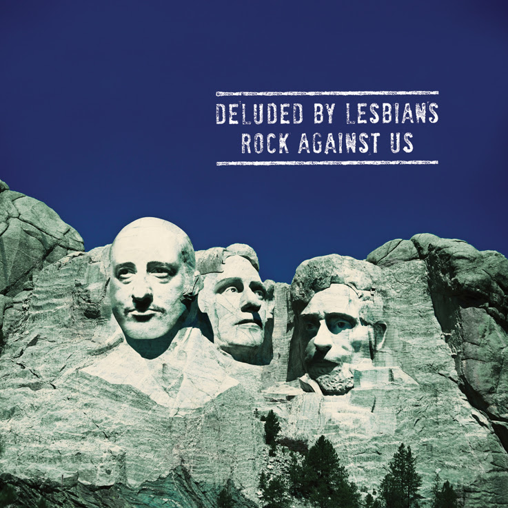 rock against us - deluded by lesbian