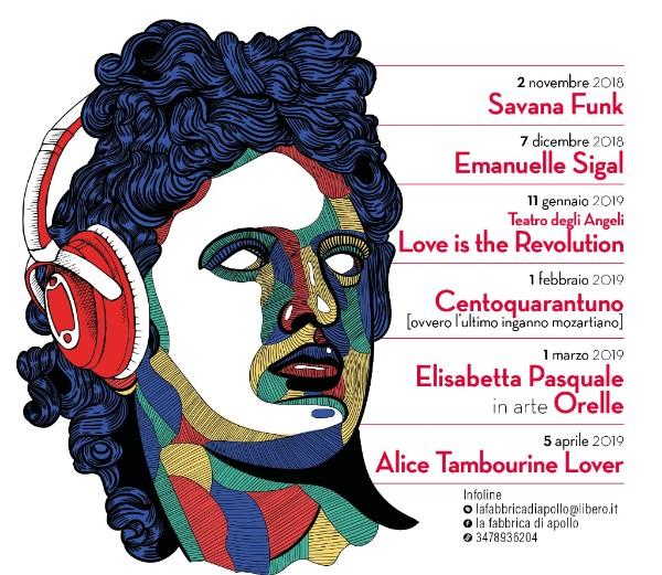 La fabbrica di Apollo: musica e molto di più!