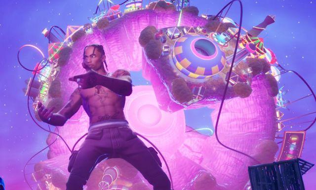 Nuove frontiere dei concerti: Travis Scott e 12 milioni di persone su Fortnite