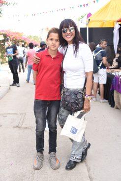 Manasi Scott and son