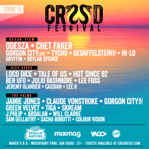 CRSSD Festival San Diego Returns March 2016