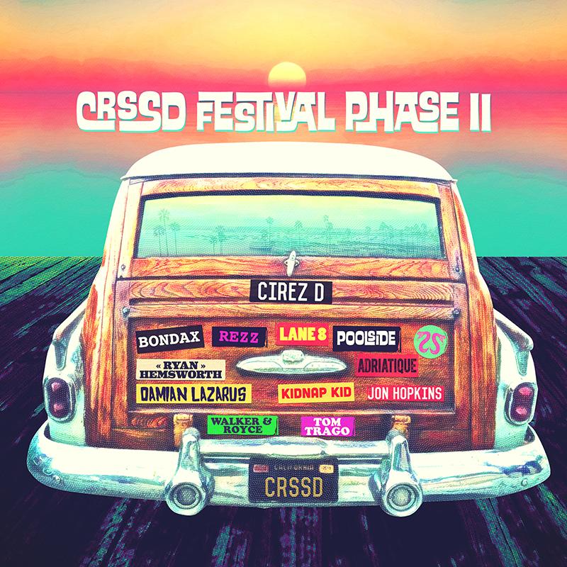 CRSSD Festival Finalizes Lineup
