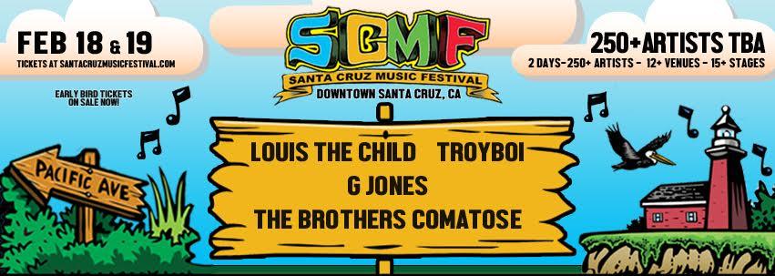 Santa Cruz Music Festival Announces Eye-Popping First Wave Headliners